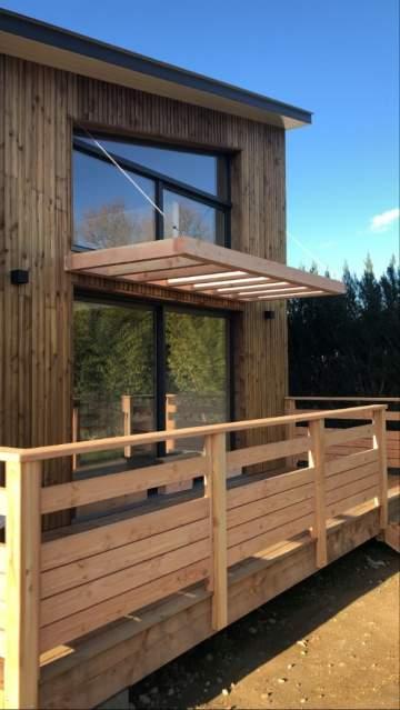 Extension et surélévation ossature bois