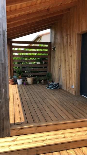 Création de terrasse en bois sur-mesure