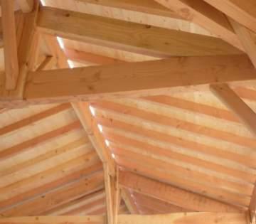 Une charpente fermette en bois pour sa maison à Carbonne