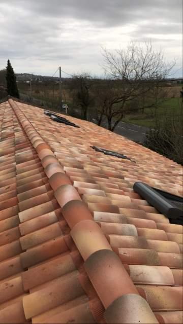 Pose et remplacement de couverture de toiture