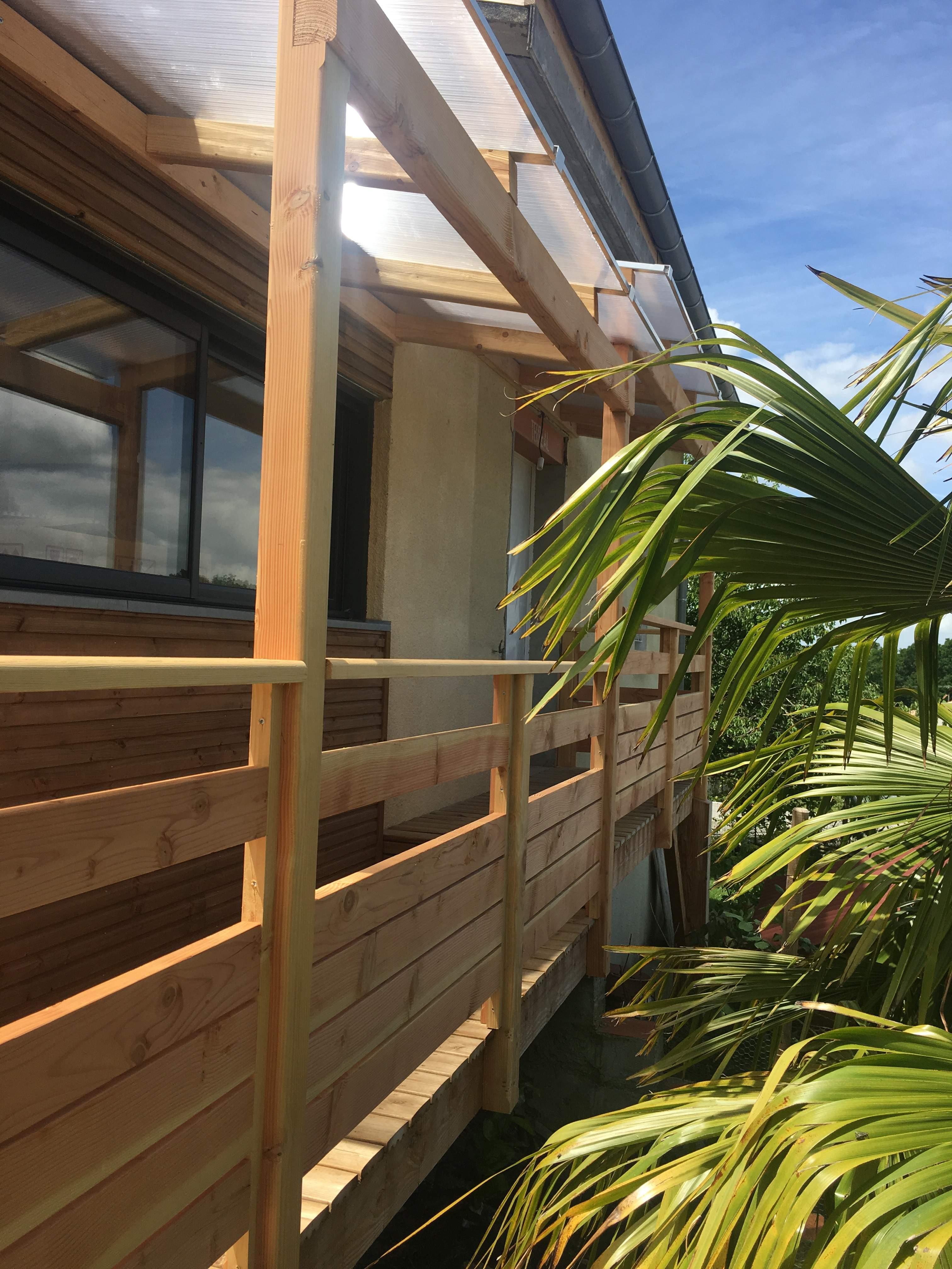 Terrasse en bois Salies du Salat